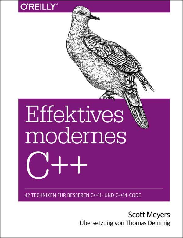 Meyers: Effektives modernes C++