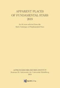 Apparent Places of fundamental Stars 2019